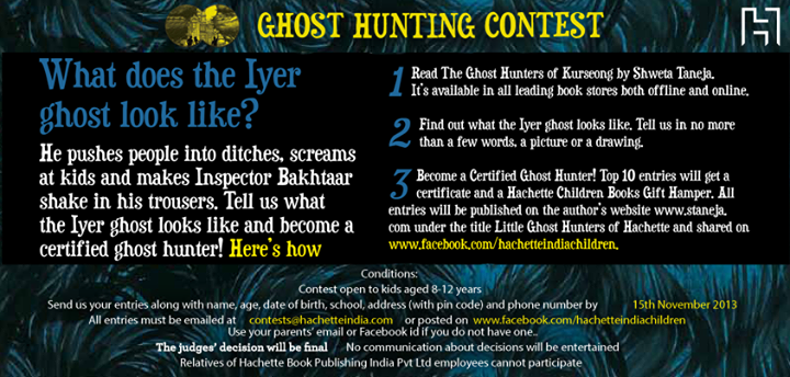 Ghost Hunting contest