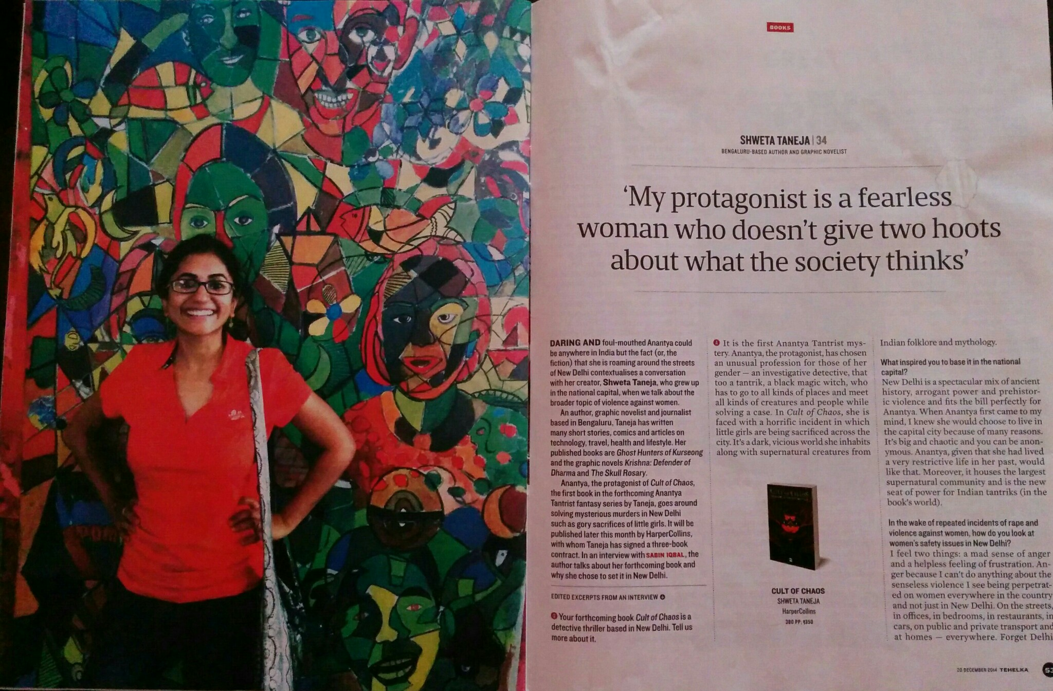 http://www.tehelka.com/my-protagonist-is-a-fearless-woman-who-doesnt-give-two-hoots-about-what-the-society-thinks/