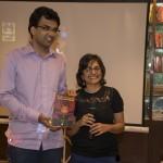 With Sharath Komarraju
