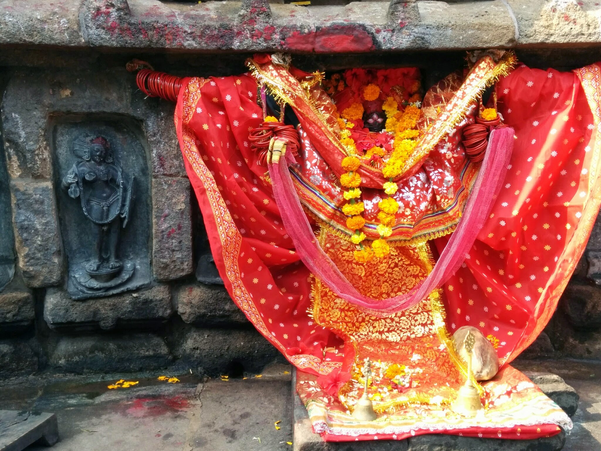 One yogini worshipped as Mahamaya