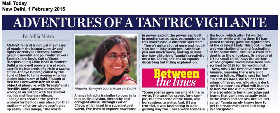Mail Today, 1 Feb 2015