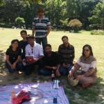Meeting a book club in Lodhi Garden